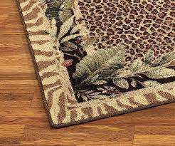 Brown Zebra Area Rug Zebra Print Runner Rug Tapinfluence Co