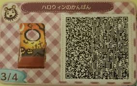 halloween qr codes d sponsored by rin animal crossing villa
