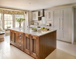 kitchen design tunbridge wells harvey jones combination walnut and painted shaker kitchen