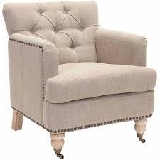 Armchair Deals Safavieh Colin Tufted Club Chair Walmart Com
