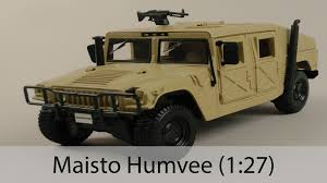 lamborghini humvee распаковка maisto humvee 1 27 youtube