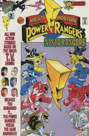 mighty morphin power rangers comic books issue 3