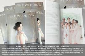 wedding magazine template marketing brochure and sales tool for professional photographers