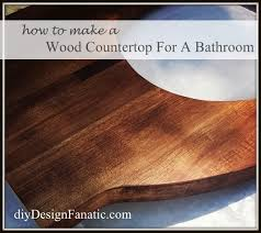 cheap bathroom countertop ideas wood bathroom countertop for less than 20 hometalk