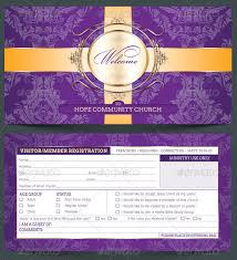 church visitor registration card template the church visit u2026 flickr