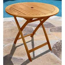 Patio Table Height by Patio Amusing Round Wood Patio Table Wooden Patio Furniture Sets