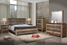 wood king size bedroom sets 4 pc sembene multi colored solid wood king bedroom set 205091ke