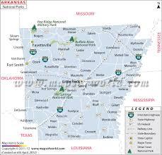 Arkansas national parks images Arkansas national parks map jpg