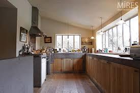 cuisine bois beton bois clair et béton brut c0200 mires