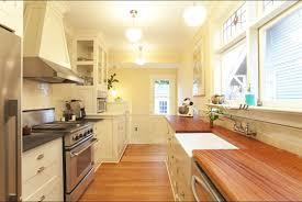 Kitchen Simple Small Galley Kitchen Kitchen Beautiful Galley Kitchen Design With Simple But Chic