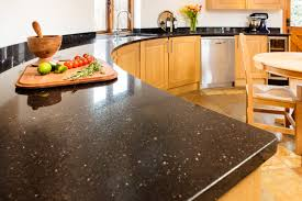 cream kitchen granite worktop warm home design