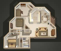 simple 3 bedroom house floor plans inspired three plan one story