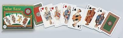 tudor deck bridge size cards by piatnik