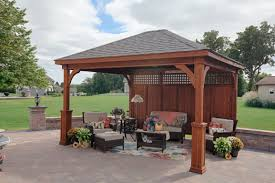 Pergola Roof Options by Project Pavilion How To Decide On Options Byler Barns