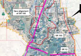 Caltrans Traffic Map Caltrans Limits To Ryer Island Access 2011