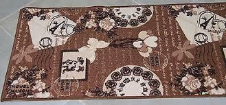 tappeto guida tappeto guida corsia antiscivolo vivy marrone varie