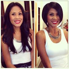 haircut before and after haircuts pinterest bobs beautiful