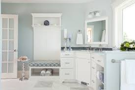 pale turquoise paint ideas bathroom beach style with window