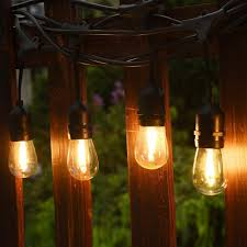 led edison string lights waterproof commercial grade string lights outdoor edison led w 10