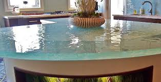 Glass Kitchen Countertops 18 Extremely Elegant Glass Countertop Ideas For Your Kitchen Top