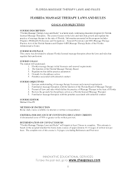 Sample Resume For Massage Therapist by Resume Massage Therapy Resume