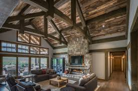 Home Interiors by Timber Frame Timber Frame Home Interiors New Energy Works