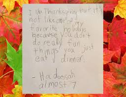 reveal what thanksgiving means to them mandatory