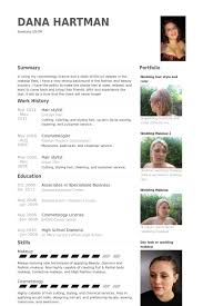 Portfolio Resume Sample by Hair Stylist Resume Samples Visualcv Resume Samples Database
