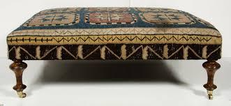 Narrow Storage Ottoman Sofa Brown Leather Ottoman Narrow Ottoman Storage Footstool