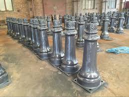 cast iron lighting columns decorative street lighting columns wanker for