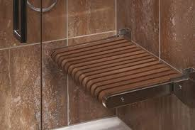 wood shower bench bench decoration