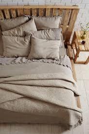 paz crochet linen duvet cover natural decor pinterest linen