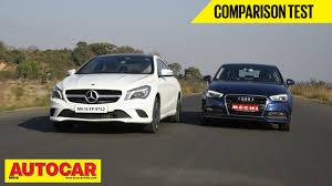 audi a3 vs mercedes a class mercedes class vs audi a3 comparison test autocar