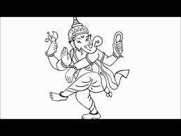 how to draw ganesha step by step for kids youtube