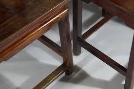 Esszimmerst Le Antik Antike Rote Chinese Stühle Aus Geschnitztem Holz 1860er 4er Set