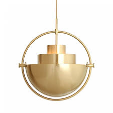 Multi Pendant Light Multi Lite Pendant Light Brass