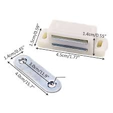 Kitchen Cabinet Door Catches by 20x Heavy Duty Magnetic Cupboard Door Catch Kitchen Cabinet Doors