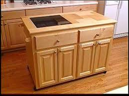 Kitchen Cabinets With Island Make A Roll Away Kitchen Island Hgtv