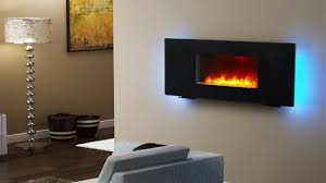 puraflame wall mounted flat panel electric fireplace review youtube