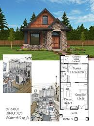 small cottages plans 349 best house plans images on tiny living small