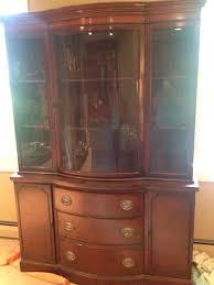 mahogany china cabinet furniture antique drexel mahogany china cabinet furniture in trumbull ct