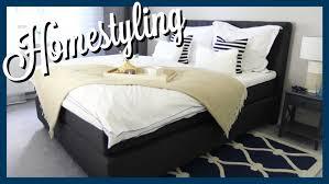 Schlafzimmer Gestalten Boxspringbett Schlafzimmer Gestalten Vorher Nachher Wohnprinz Youtube