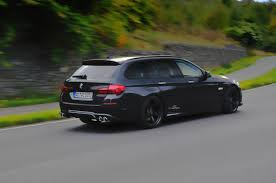 ac schnitzer 5 series touring lci with new tailpipe design