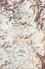Matthiessen State Park Trail Map by Trail Map Of Arches National Park Utah 211 National