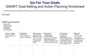 Goals And Objectives Template Excel 40 Smart Goals Templates Ready To Use Excel Pdf Word