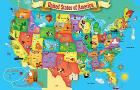 Map Of The United States For Children by One Thing You Should Do In Every State Livechronicle