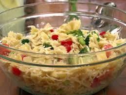 Pasta Salad Recipes With Italian Dressing Bow Tie Pasta Salad Recipe Jamie Deen Food Network