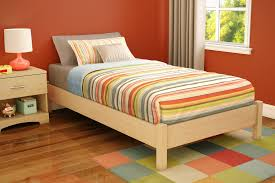 Small Bed Frames Platform Bed Frame More Economical For Small Space