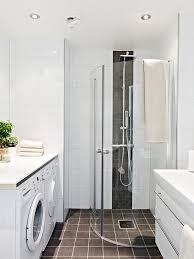 Bathroom Laundry Ideas Shower Laundry Combo Like The Idea Of Floor To Ceiling Large