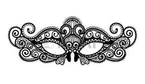 black and white mardi gras masks 6 304 mardi gras mask cliparts stock vector and royalty free